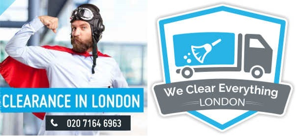 house clearance london with We Clear Everything
