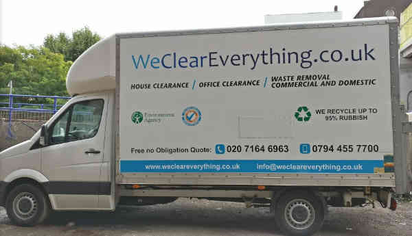We Clear Everything London - truck