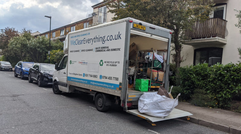 house clearance london - we clear everything